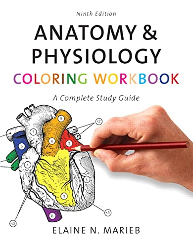 9780805347784: Anatomy & Physiology Coloring Workbook: A Complete Study Guide