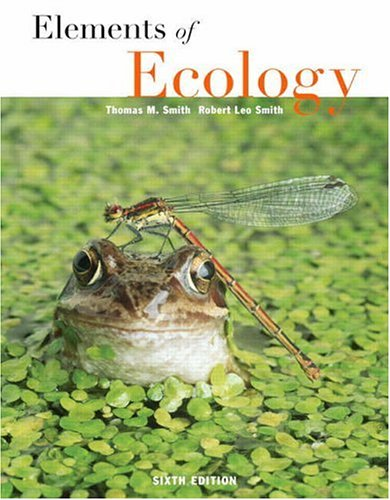 9780805348309: Elements of Ecology (6th Edition)