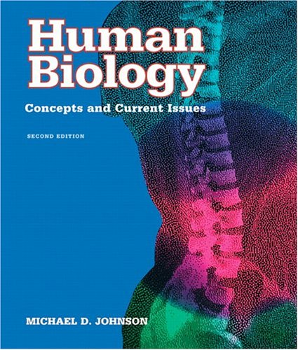 9780805348804: Human Biology: Concepts and Current Issues (2nd Edition)