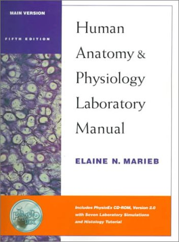 9780805349160: Human Anatomy and Physiology Laboratory Manual: Main Version with PhysioEx(TM) 2.0 Package (5th Edition)