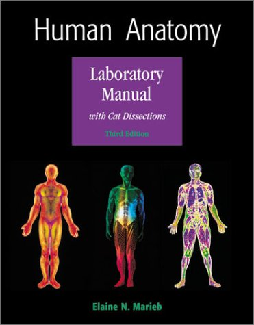 9780805349689: Human Anatomy Laboratory Manual with Cat Dissections (3rd Edition)