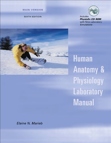 9780805349870 Human Anatomy And Physiology Laboratory Manual Main