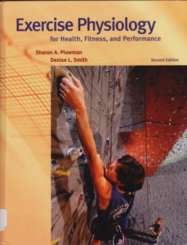 9780805353495: Exercise Physiology for Health, Fitness and Performance: Text Book