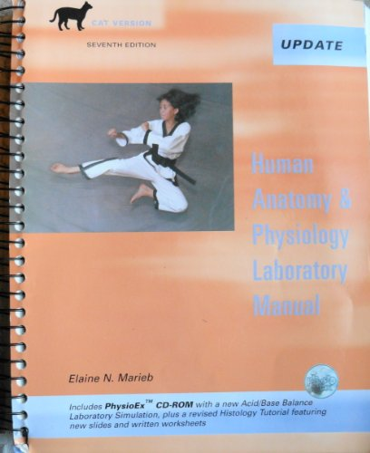 9780805353556: Human Anatomy & Physiology Laboratory Manual: Cat Version : Updated