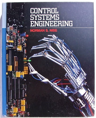 9780805354201  Control Systems Engineering  Analysis And
