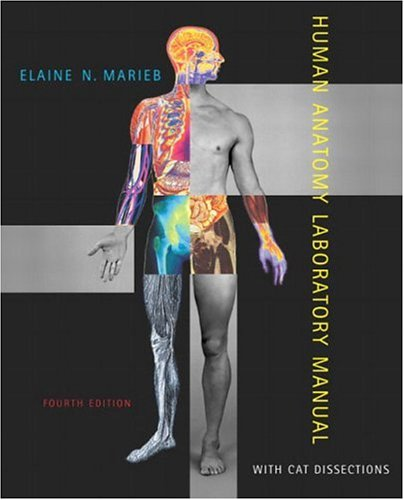 9780805355031: Human Anatomy Laboratory Manual with Cat Dissections (4th Edition)