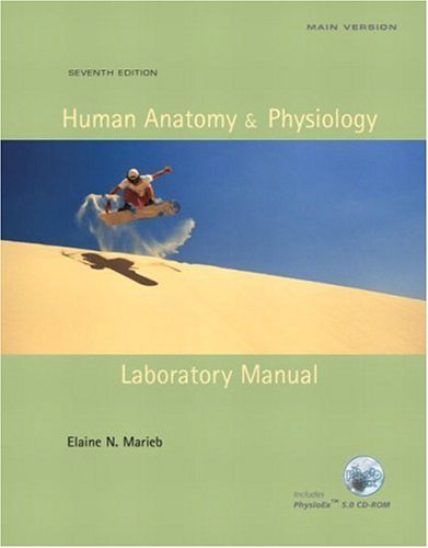 9780805355147: Human Anatomy & Physiology Laboratory Manual, Main Version (7th Edition)
