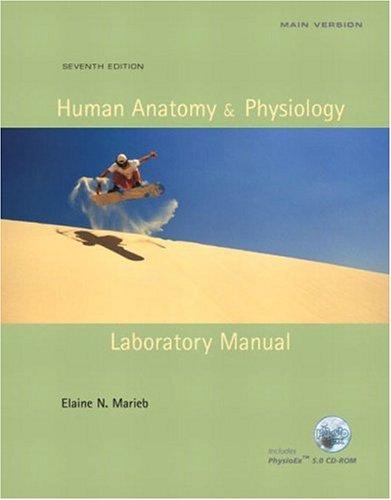 9780805355147: Human Anatomy & Physiology Laboratory Manual, Main ...
