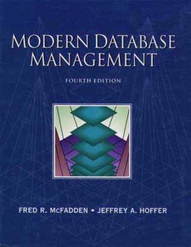 9780805360479: Modern Database Management