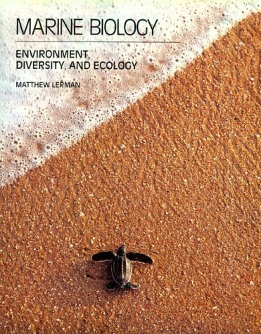 9780805364026: Marine Biology: Environment, Diversity, and Ecology (The Benjamin/Cummings series in the life sciences)