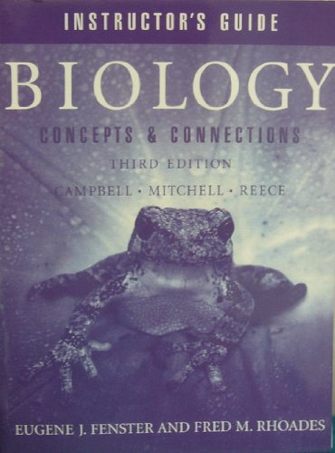 Instructor's Guide for Biology: Concepts and Connections, 3rd edition: al, Campbell et