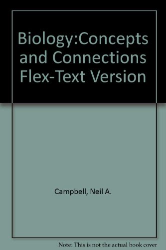 9780805368239: Biology: Concepts and Connections Flex-Text Version