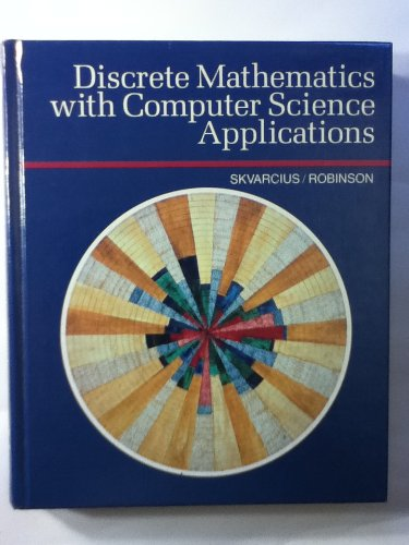 9780805370447: Discrete Mathematics With Computer Science Applications