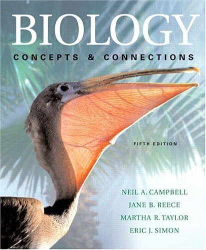 9780805371604: Biology: Concepts & Connections with Student CD-ROM