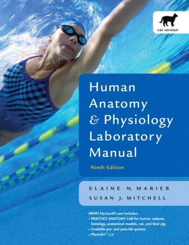 9780805372632: Human Anatomy and Physiology Lab Manual, Cat Version (9th Edition)