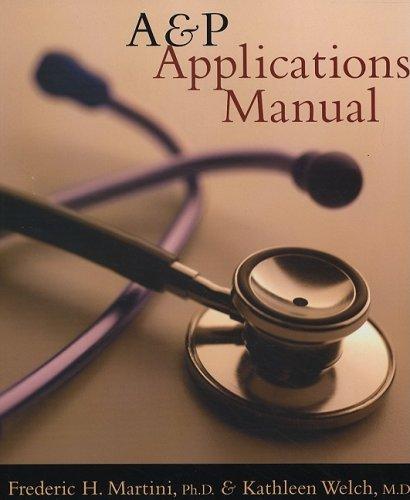 9780805372724: A&P Applications Manual