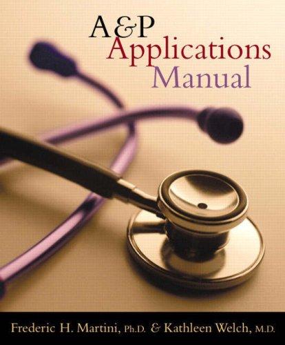 9780805372861: A&P Applications Manual