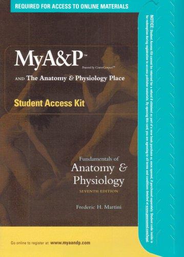 Fundamentals Anatomy Phys Stdn: Martini, Frederic H.