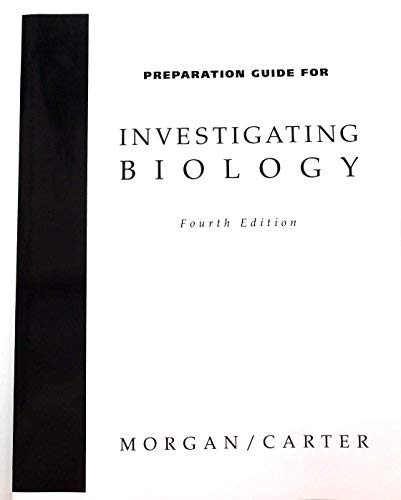 9780805373677: Investigating Biology, Preparation Guide, Fourth Edition