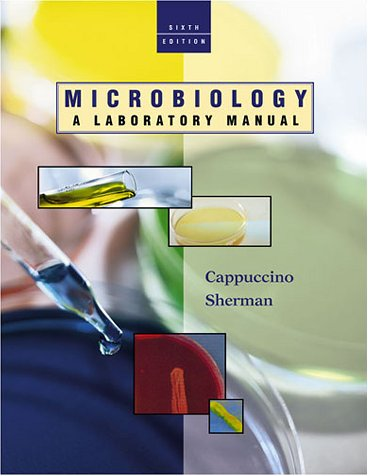 9780805376487 microbiology a laboratory manual united states rh abebooks co uk cappuccino and sherman microbiology lab manual pdf cappuccino and sherman microbiology lab manual pdf