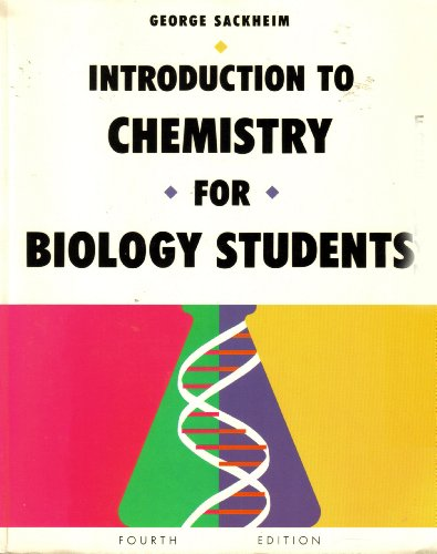 9780805377040: Introduction to Chemistry for Biology Students
