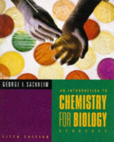 9780805377064: An Introduction to Chemistry for Biology Students