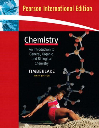9780805377569: Chemistry: An Introduction to General, Organic, and Biological Chemistry