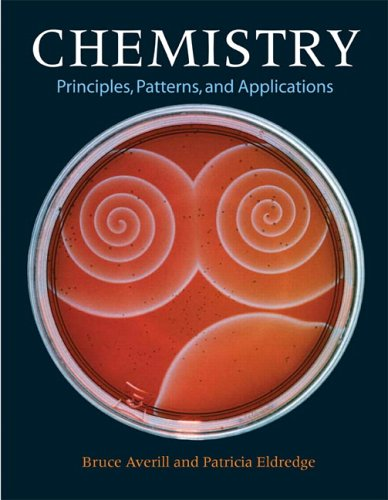 9780805382808: Chemistry: Principles, Patterns, and Applications Volume 1