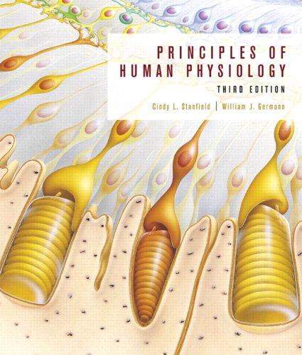 9780805382860: Principles of Human Physiology