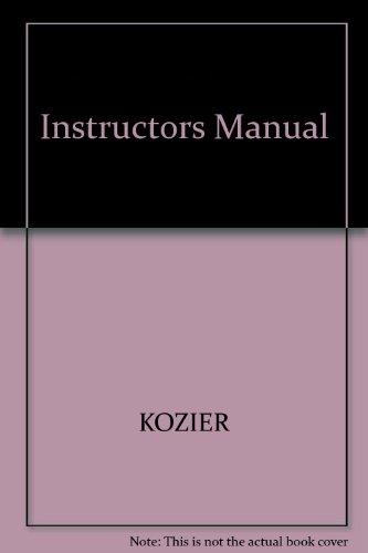 9780805383416: Instructors Manual