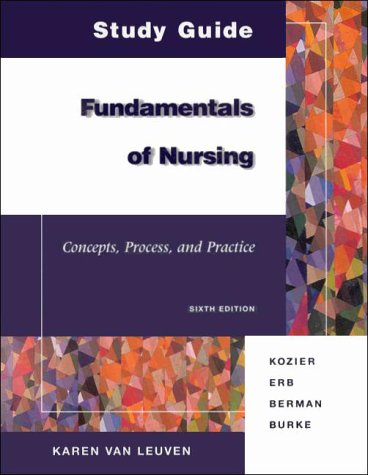 9780805383423: Fundamentals of Nursing Study Guide