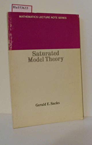 9780805383805: saturated_model_theory