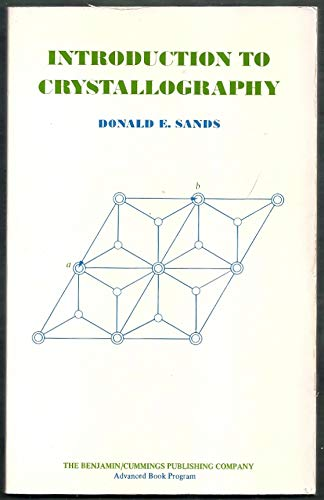 9780805384734: Introduction to Crystallography