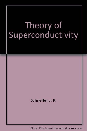 9780805385021: Theory of Superconductivity (Frontiers in physics)