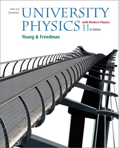 University Physics with Modern Physics with Mastering Physics (11th Edition) (9780805386844) by Hugh D. Young; Roger A. Freedman