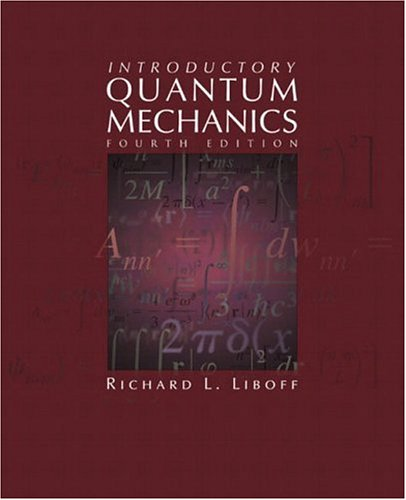 9780805387148: Introductory Quantum Mechanics