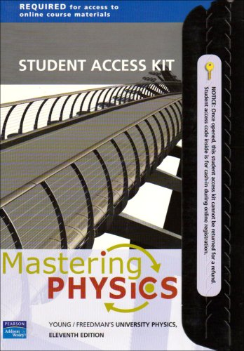 9780805387216: Mastering Physics: Student Access Kit for Young and Freedman's University Physics, 11th Edition