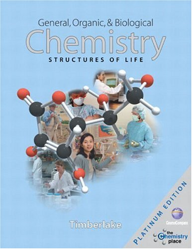 9780805389135: General, Organic, and Biological Chemistry: Structures of Life, Platinum Edition