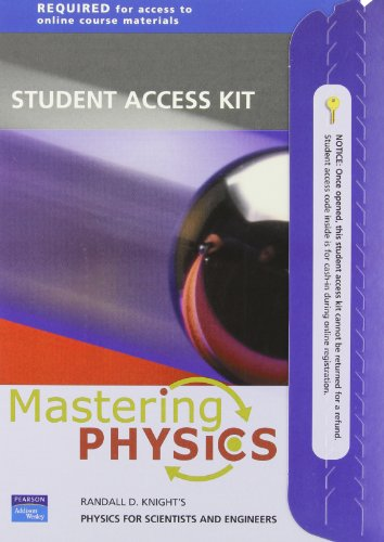 Physics for Scientist& Engrs: Strategc Apprch (0805389628) by David Pritchard Dr
