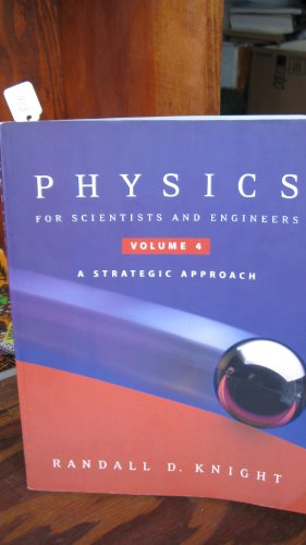 9780805389722: Physics Scientist & Engineer Vl4 Chp25-36 (v. 4)