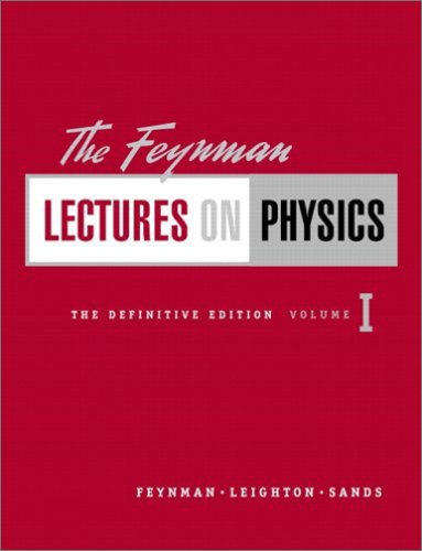 9780805390469: The Feynman Lectures on Physics, Vol. 1: Mainly Mechanics, Radiation, and Heat