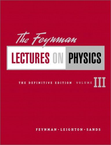 9780805390490: The Feynman Lectures on Physics, The Definitive Edition Volume 3 (2nd Edition)