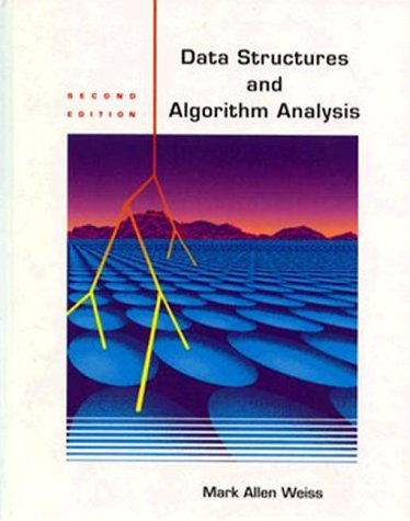 9780805390575: Data Structures and Algorithm Analysis (2nd Edition)