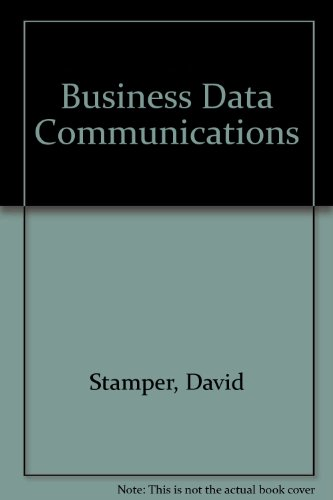 9780805391046: Business Data Communications