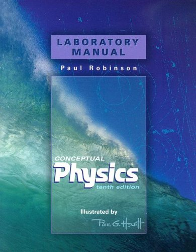 Laboratory Manual for Conceptual Physics [Paperback]
