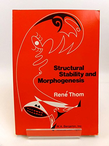 9780805392777: Structural Stability and Morphogenesis: An Outline of a General Theory of Models