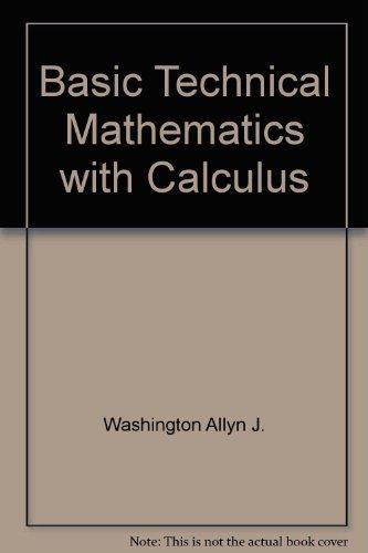 9780805395211: Basic technical mathematics with calculus