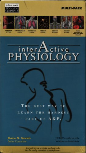 9780805398984: Interactive Physiology 7-Pack CD-ROM