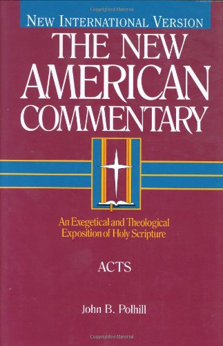 Acts: An Exegetical and Theological Exposition of Holy Scripture (Hardcover): John B. Polhill