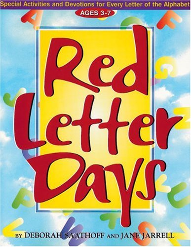 Red Letter Days : Special Activities and: Deborah Saathoff; Jane
